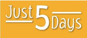 Just5days logo